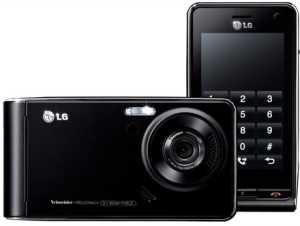 Телефон LG Viewty. Соединение